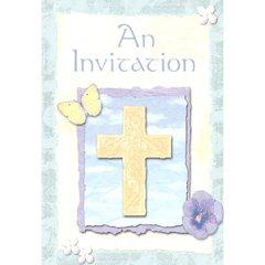 Inspirations Folded Invitation
