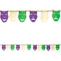 Mardi Gras Mask Garland