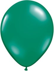 "13 Green, Qualatex 11"" Latex Balloon 