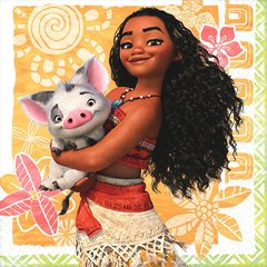 ©Disney Moana Beverage Napkins