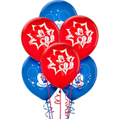 Disney© Mickey Mouse Printed Latex Balloons