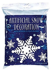 Artificial Snow Flurries Decoration