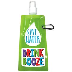 21st Brilliant Birthday Foldable Flask