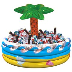 Palm Tree Oasis Inflatable Cooler
