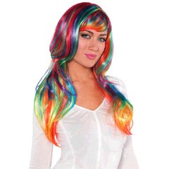 Rainbow Glamourous Wig
