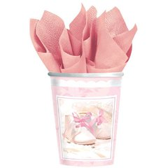 Tiny Blessing Pink Cups 18ct