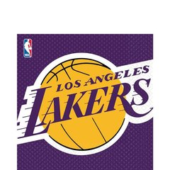 Los Angeles Lakers Luncheon Napkins