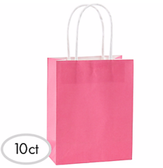 Cub Bag Value Pack - Bright Pink 10 Ct