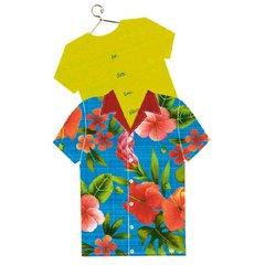Hawaiian Shirt Jumbo Invitations 8ct
