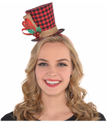 Buffalo Plaid Fascinator