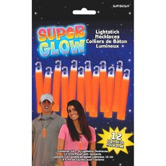 "4"" Glow Stick Value Pack - Orange"