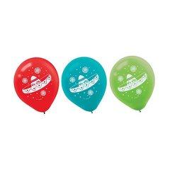 Fiesta Latex Balloons