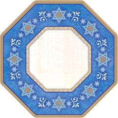 "Judaic Traditions Octagonal Plates, 7"""