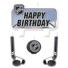 NHL Ice Time! Birthday Candle Set