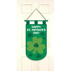 St. Patrick's Day Door Banner