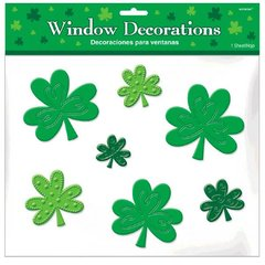 Shamrocks Clings - Silicone