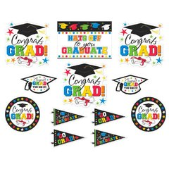 Grad Value Pack Assortment Packaged Cutouts - Multicolor