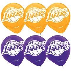 LA Lakers Printed Latex Balloons