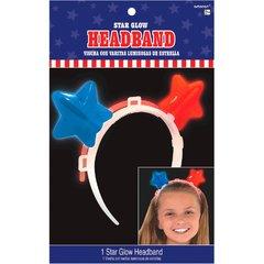 Patriotic Stars Glow Headband