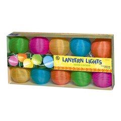 Round Lantern Light Set - Summer