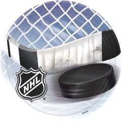 "NHL Ice Time! 7"" Plates"