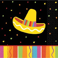 Fiesta Fun Beverage Napkins