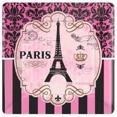 "Day in Paris Square Plates, 10"""