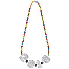 """2018"" Giant Bead Necklace"