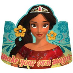 ©Disney Elena of Avalor Paper Tiaras