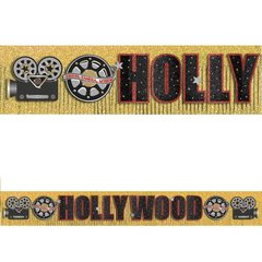 Hollywood Glitter Fringe Letter Banner