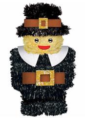 3D Pilgrim Boy Decoration