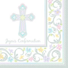 Blessed Day Confirmation Luncheon Napkins