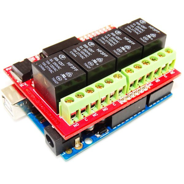 4 Channel Relay Board 5V-Compatible for Arduino