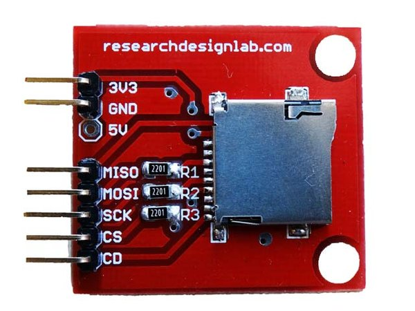 Micro SD Memory Card interface for 3.3V MCU