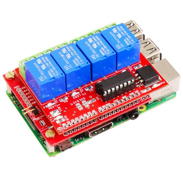 4 Channel Relay Board 5V-Compatible for Raspberry Pi