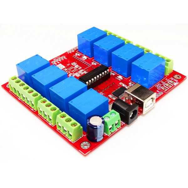 USB 8 Channel Relay Board-FT245RL