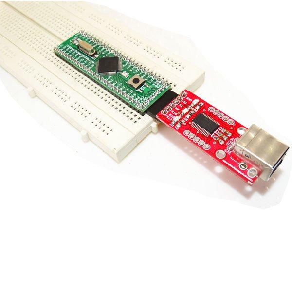 Mini ARM Board-LPC2148 Breadboard Compatible