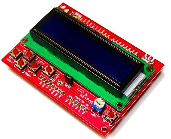 LCD KEYPAD Shield-Serial