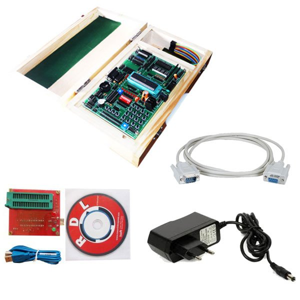 8051 AT89S52 ATMEL Development Board- Trainer Kit