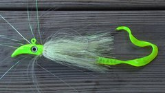 Deep Flash Jig With Worm-MADE IN USA!