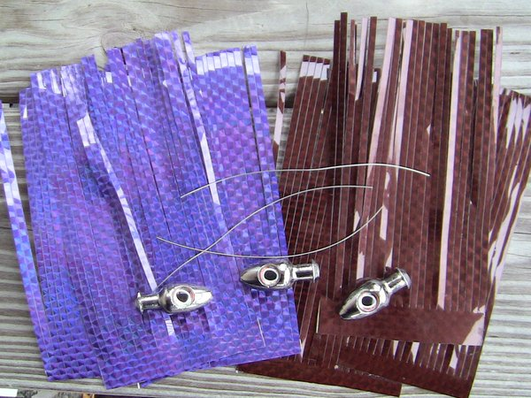 Mylar Skirted Chrome Plated Lure Making Kit