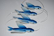 Yummee 7 Inch Delta Wing Flying Fish Chain-MADE IN USA!