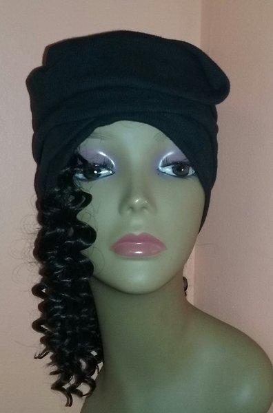 Hair wrap scarf hair extensions chemo wraps alopecia fashion deep wave hair wrap pmusecretfo Image collections