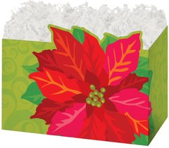 Poinsettia Holiday box