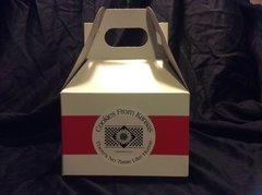 Gable Gift Box - White - 0.5 Dozen