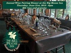 2018 Wine Pairing Dinner