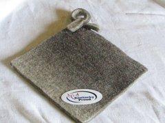Natural Colors Wool Potholder