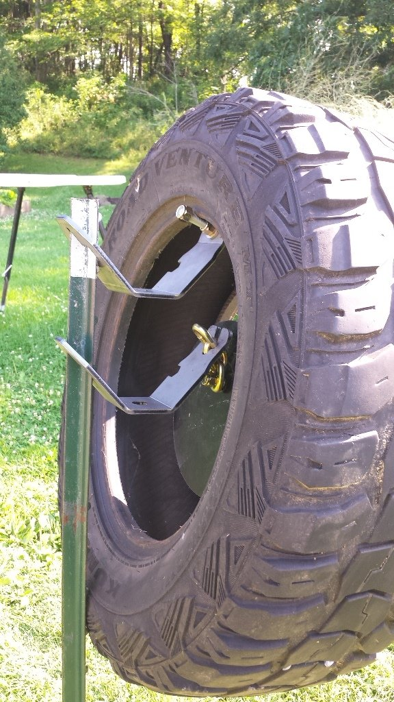 Tire Mounting Kit Hang Fast Steel Target Systems