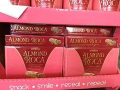 ALMOND ROCA Buttercrunch Toffee /140g 乐家扁桃仁巧克力/140g