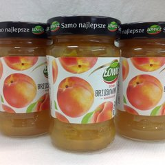 POL_Lowicz Peach Fruit Spread 280g